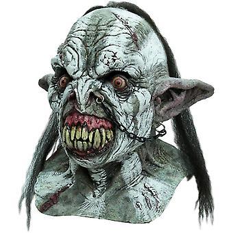 Slaget Orc voksen Latex maske For voksne