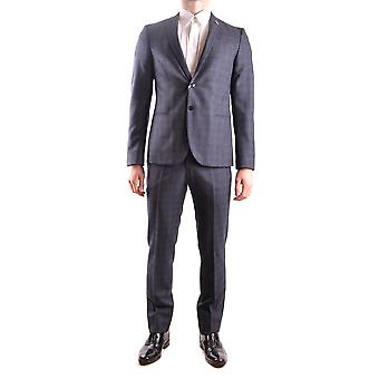 Manuel Ritz Grey Wool Suit