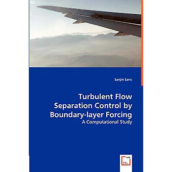 Turbulent Flow Separation Control by Boundarylayer Forcing  A Computational Study by Saric & Sanjin