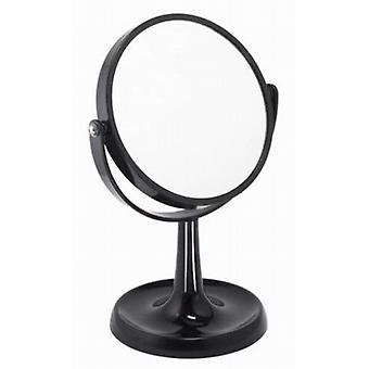 Famego 3x Magnification Black Acrylic Mirror