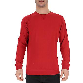 Laneus Red Silk Sweater