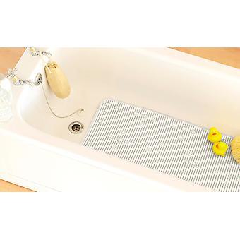 Country Club PVC Bathmat, White
