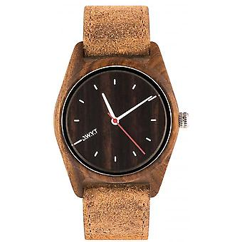 Watch D.W.Y.T DW-00104-1002 - Gola wood mixed brown leather