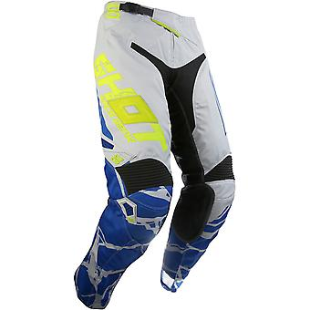 Shot Grey-Neon Yellow 2017 Aerolite Magma MX Pant
