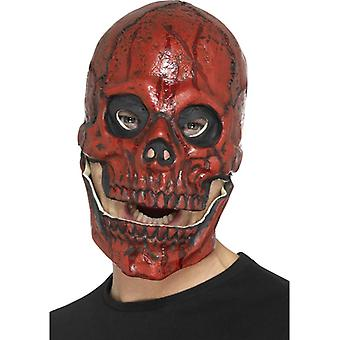 Blood skull mask, foam latex