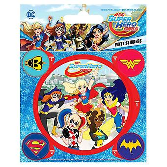 DC Super Hero Girls Vinyl Stickers