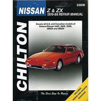 Nissan Z and ZX Series (1970-88) by Chilton Automotive Books - Chilto