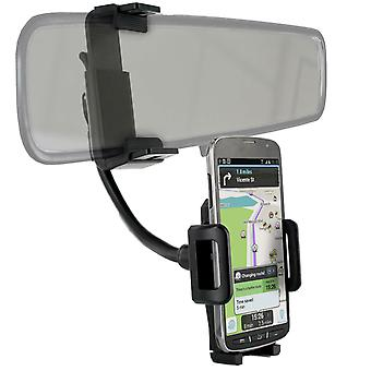 Car Holder Smartphone Mounting Mirror Arm Extendable