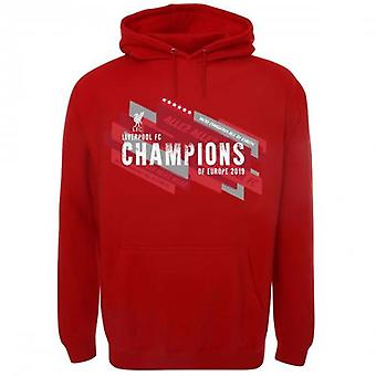 Liverpool F.C. Champions of Europe Hoodie Mens S