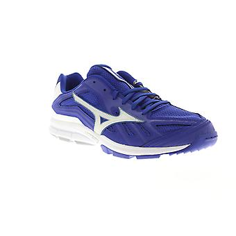 Mizuno jogadores trainer Mens Blue mesh low top Athletic ginásio cross training Shoes