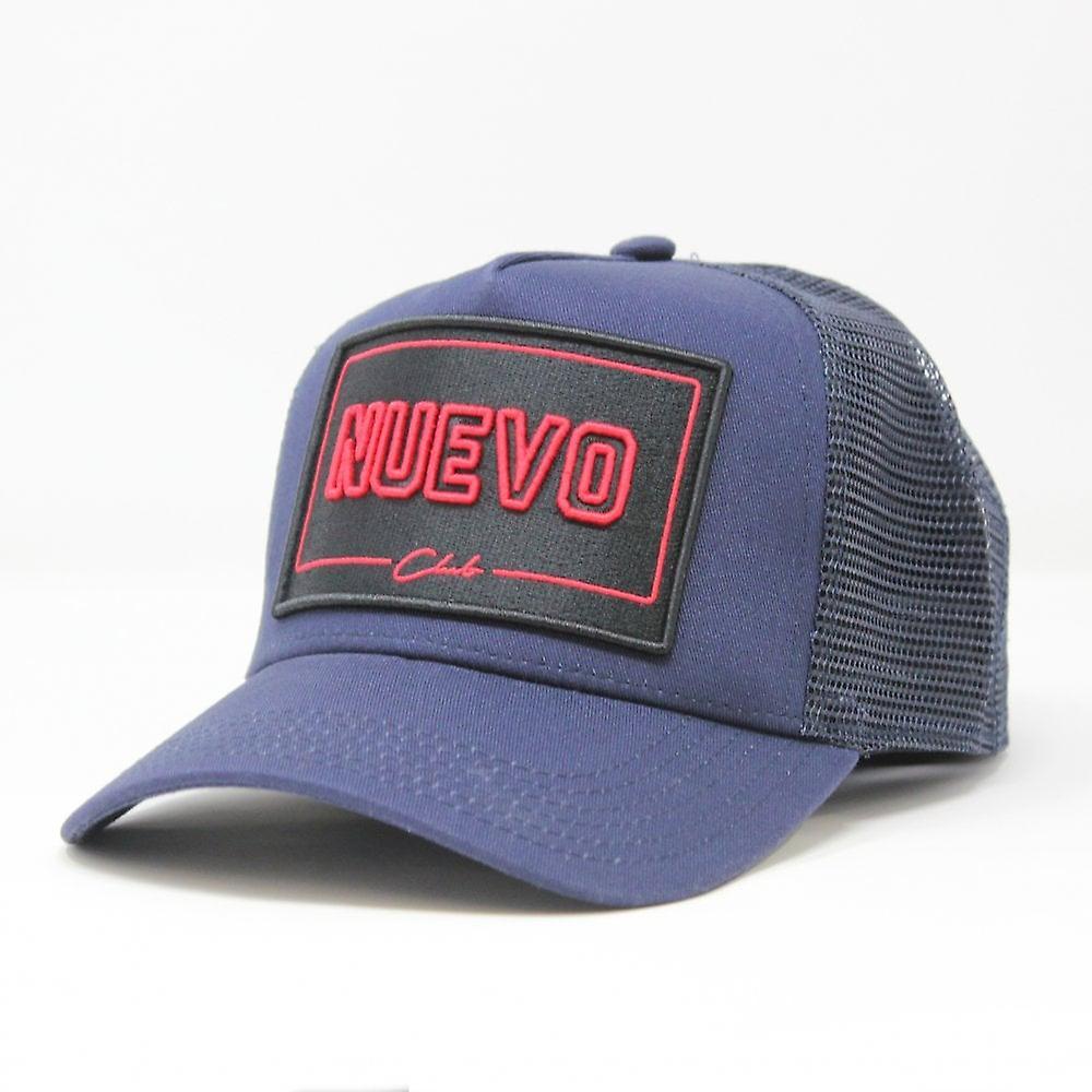 Nuevo Club Mugello Trucker - Navy/red