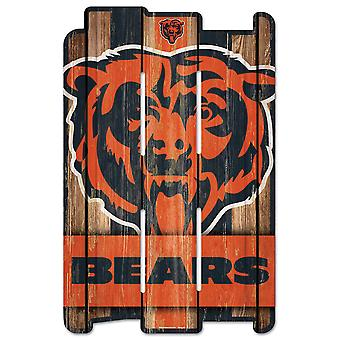 Wincraft PLANK Wood Sign Wood Sign - NFL Chicago Bears