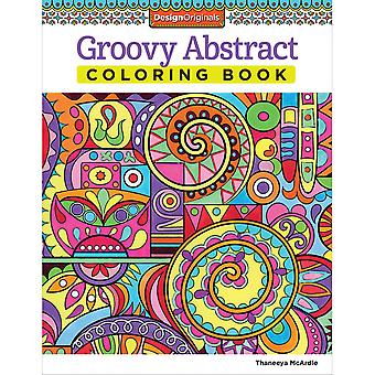 Design Originals-Groovy Abstract Coloring Book DO-5497