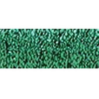 Kreinik Fine metallische Braid #8, die 10 Meter 11 Yards Hallo Lustre Green F 008 Hl