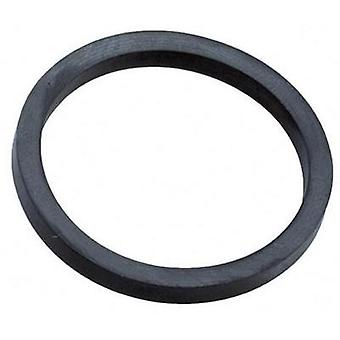 Sealing ring PG7 EPDM rubber Black (RAL 9005) Wiska ADR 7 1 pc(s)