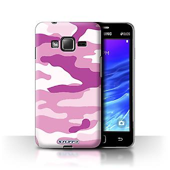 STUFF4 Case/Cover for Samsung Z1/Z130/Pink 2/Camouflage Army Navy
