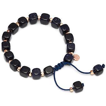 Lola Rose Justina braccialetto blu arenaria