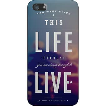 You were given this life cover for iPhone 4/4