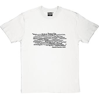 On The Origin Of Species Opening Lines Men's T-Shirt