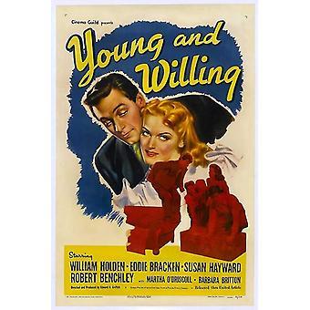 Unge og villig film plakat (11 x 17)