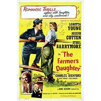 The Farmers Daughter Movie Poster (11 x 17)