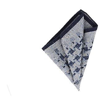 Baldessarini handkerchief Pochette blue patterned handkerchief Cavalier cloth