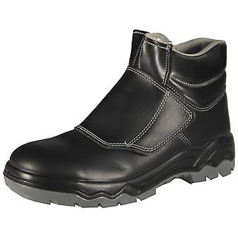 LODER 026 work & safety boots without closure S2 - SRA boots leather