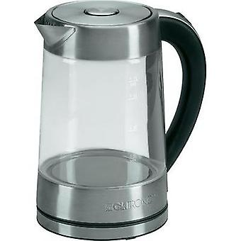 Kettle cordless Clatronic WK3501G Glass, Stainless steel