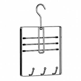 Chrome Belt and Tie Hanger