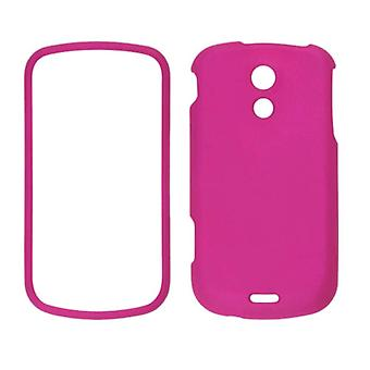 Two piece Soft Touch Snap-On Case for Samsung Epic 4G SPH-D700 (Frosted Pink)