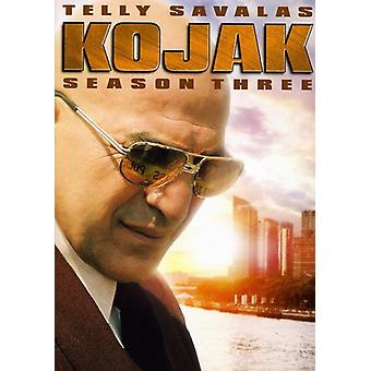 Kojak - Kojak: Säsong 3 [DVD] USA import