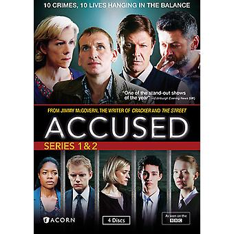 Accused: Series 1 & 2 [DVD] USA import
