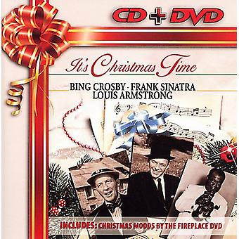 Crosby/Sinatra/Armstrong - det er jul tid/jul stemninger af Firepla [CD] USA importen