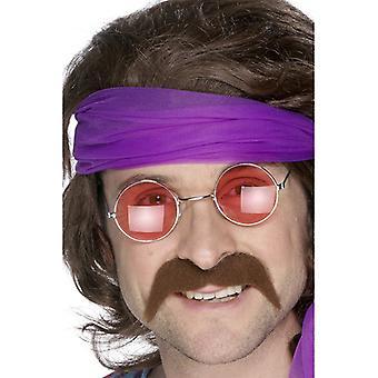 Mustache Brown Prolet beard moustache
