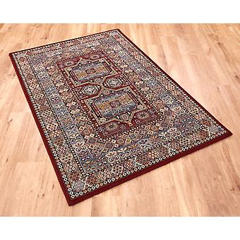 Da Vinci 57147 1454 Red  Rectangle Rugs Traditional Rugs