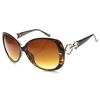 نظارات الفراشة النسائي مع UV400 المحمية عدسة التدرج