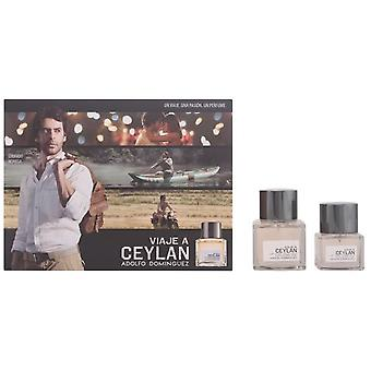 Adolfo Domínguez Ceylan Man Travel Case (Cologne Cologne 100 V + 50 V)
