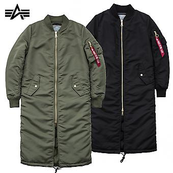 Alpha industries ladies jacket MA-1 coat PM long Wmn