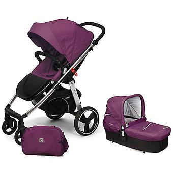 Casualplay Match2 Loop + Casualplaycot + Bolso Plum