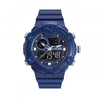 PUMA watch wrist watch mens Watch analog digital silicone PU911391003 COLLIDE