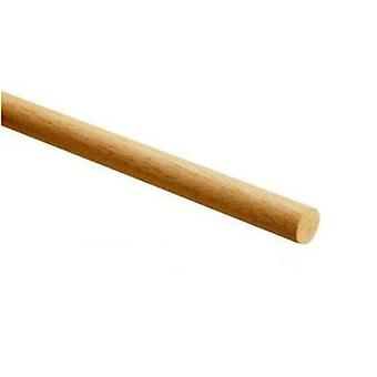 10 Wooden Dowels for Crafts - 16mm Wide & 30cm Long
