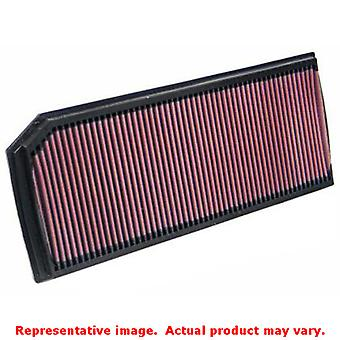 K&N Drop-In High-Flow Air Filter 33-2888 Fits:AUDI 2004 - 2007 A3 L4 2.0 T 2008