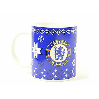 Chelsea FC Official Chistmas Mug