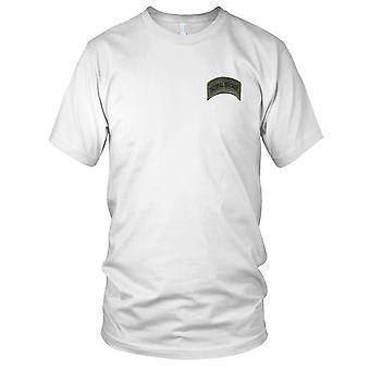 Streitkräfte, Sheriffs und Polizei taktische Tracker Rocker gestickt Patch - Haken und Schleife Kinder-T-Shirt
