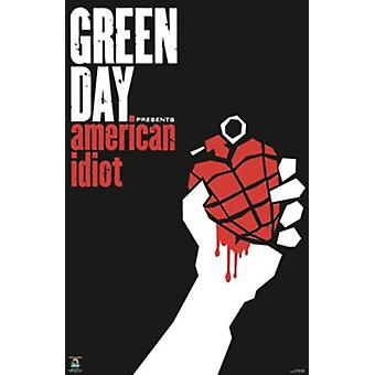 Green Day Poster Poster Print