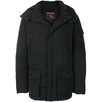 Woolrich men's WOCPS2607SM20100 black polyester jacket