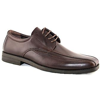 Mens Smart Wedding Dress Suite Lace Up Casual Oxford Formal Shoes