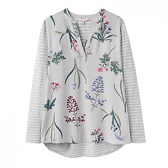 Joules Joules Beatrice Jersey Woven Mix Top (Y)
