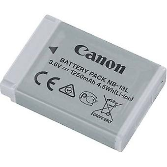 Camera battery Canon replaces original battery NB-13L 3.6 V 1250