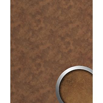 Wall Panel metal optics WallFace 20186 OXIDIZED wall tiling in the vintage look rust-optic adhesive abrasion resistant copper Brown | 2.6 m2